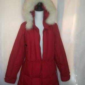 Jackets & Blazers - Cabela's Women's Goose Down Puffer Coyote Fur szXL